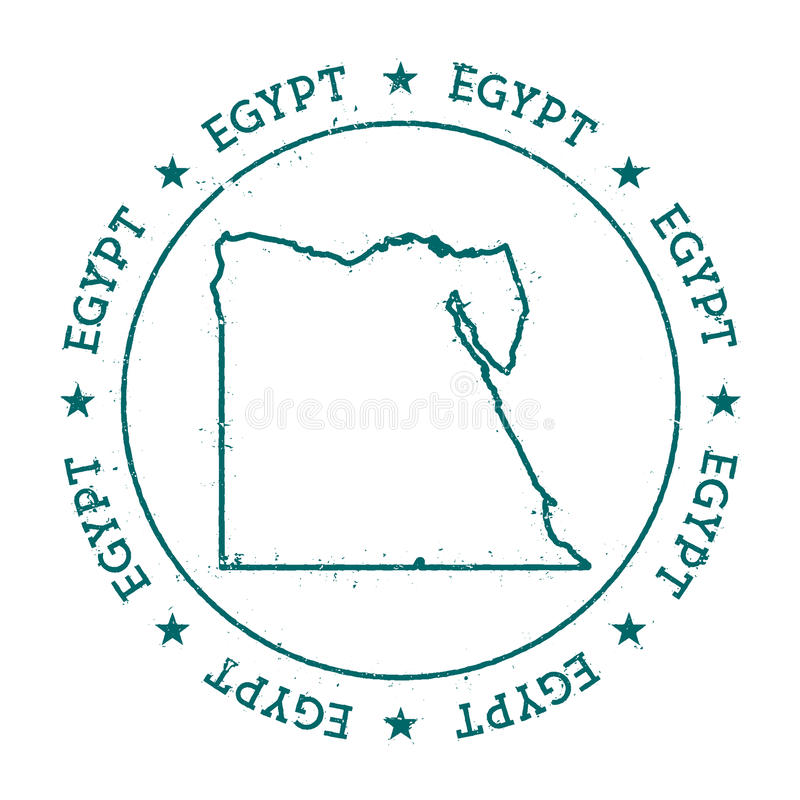 Egypt Vector Map Stock Vector Image - Map of egypt vector free