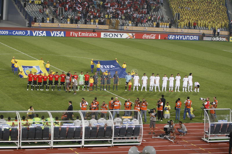 Download Egypt Vs Paraguay - FIFA-U20 Worldcup Editorial Image - Image: 11226095
