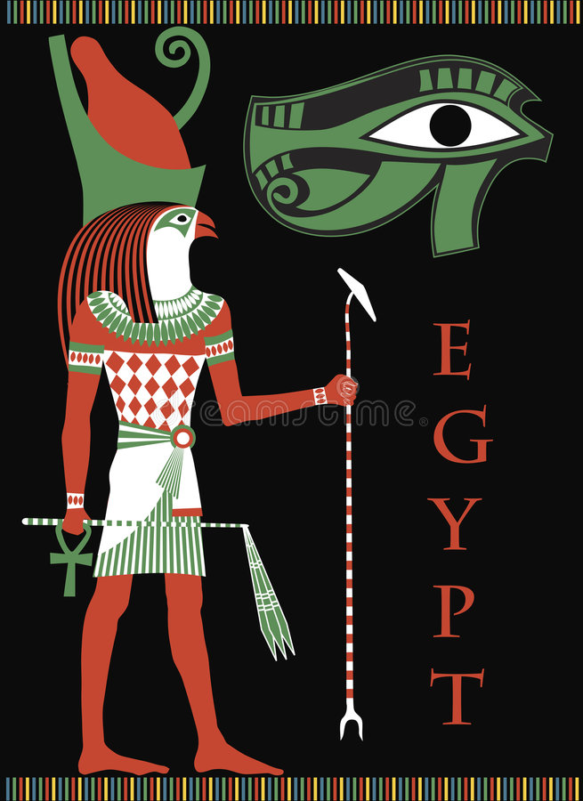 Egypte vector illustratie