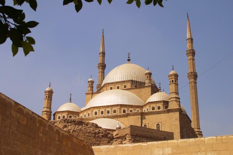 Egypte Kaïro Muhammad Ali Mosque stock foto's