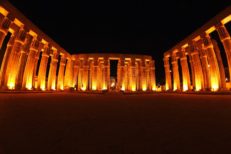 Egypte-Luxor royalty-vrije stock foto's