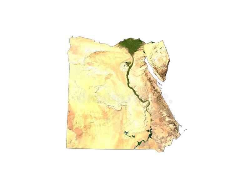 Egypte op Witte Achtergrond vector illustratie
