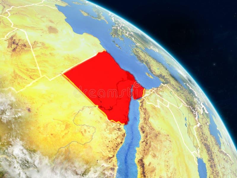 Egypte van ruimte vector illustratie