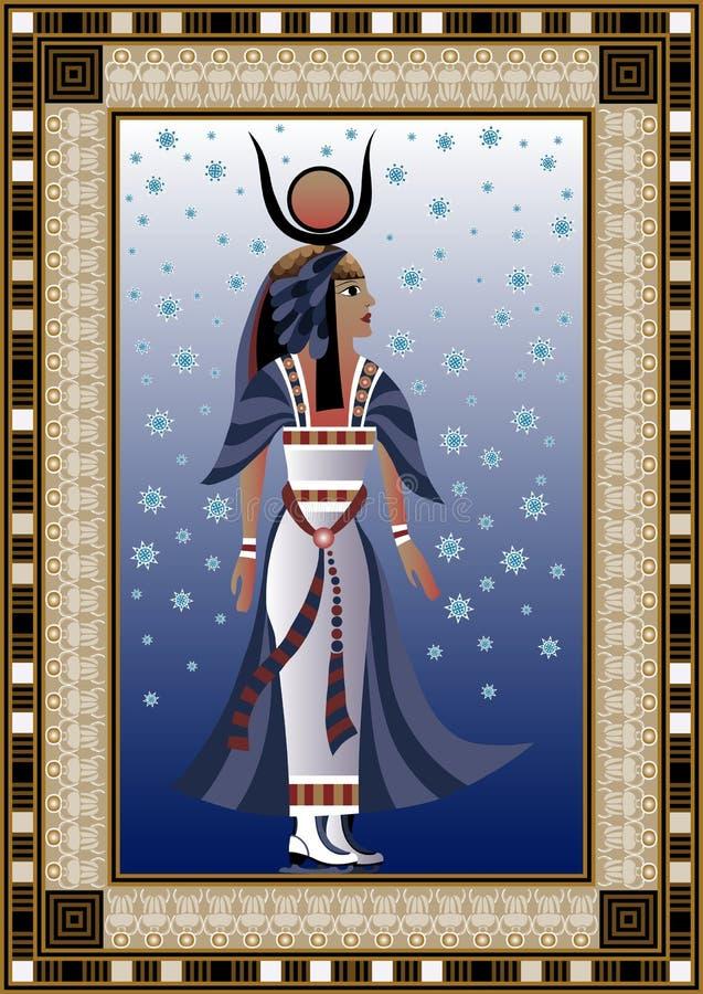 Egypten 6 royaltyfri illustrationer