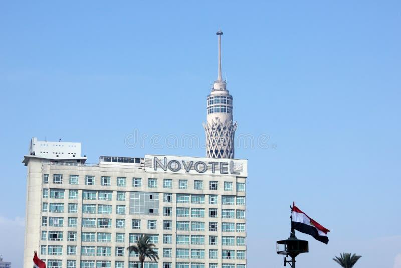 Egypten cairo sikt fotografering för bildbyråer