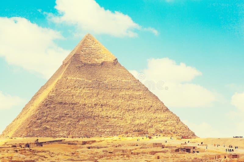 Egypten Kairo - Giza royaltyfri bild