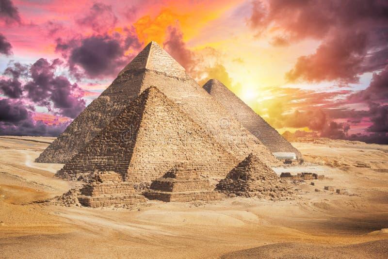 Egypten Kairo - Giza arkivbild
