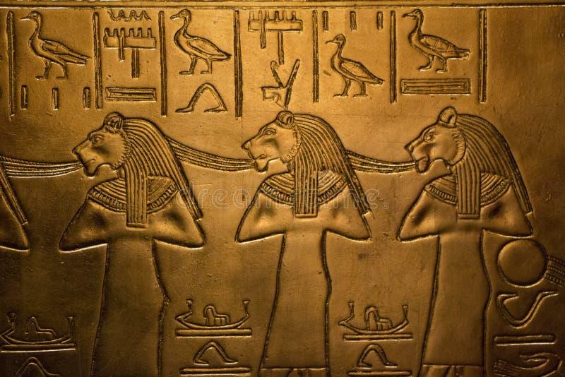 Egypten lättnad arkivfoton