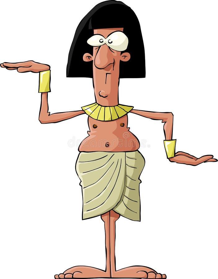 Egyptian antigo ilustração royalty free