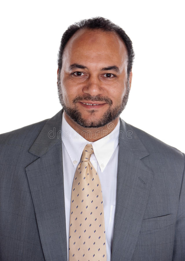 Egyptian businessman royalty free stock photography