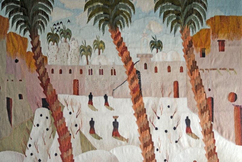 Egyptian Carpet Stock Photo