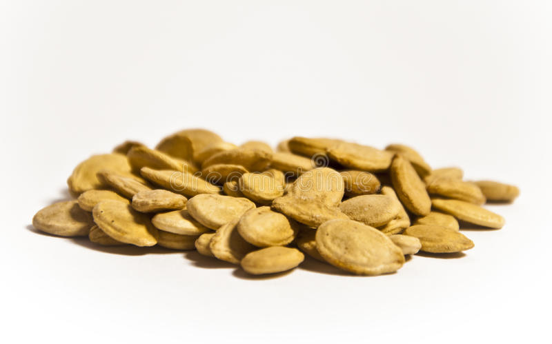 Egyptian Crack Seeds. Egyptian Super Yellow Crack Seeds royalty free stock images