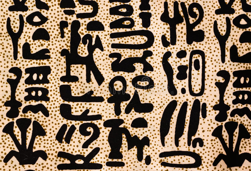 Download Egyptian hieroglyphics stock photo. Image of ancient - 27536002