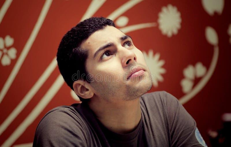 sad arab egyptian businessman royalty free stock photo