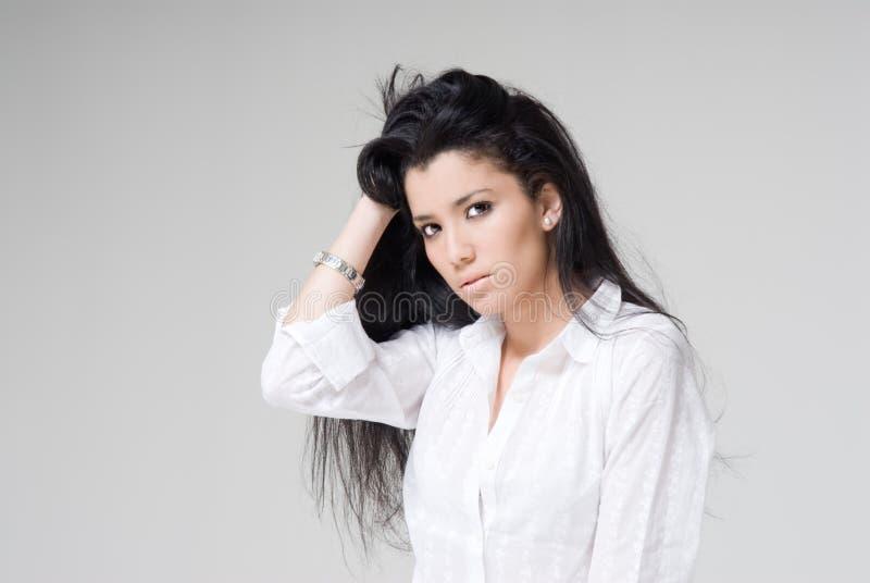 Download Egyptian model stock image. Image of brunette, beautiful - 8774913