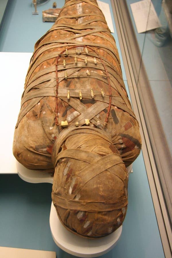 Egyptian Mummy Editorial Photo