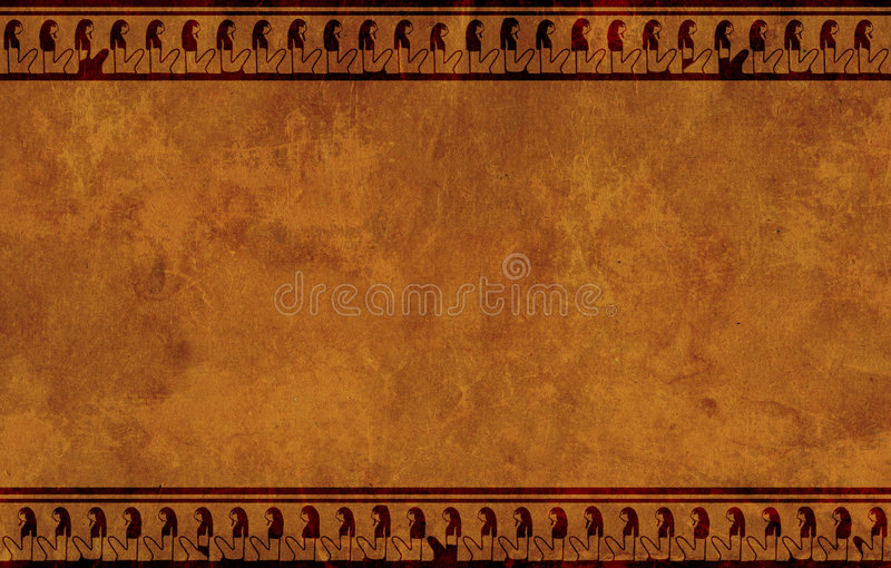 Egyptian National Patterns Royalty Free Stock Photography
