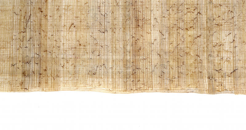 Download Egyptian papyrus 1 stock photo. Image of texture, linen - 14041430