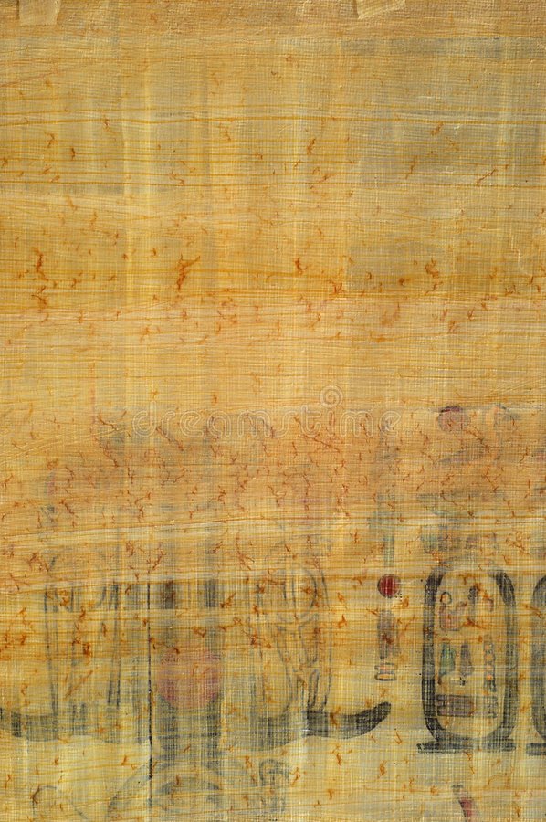 Egyptian papyrus texture stock photo. Image of document - 3407628