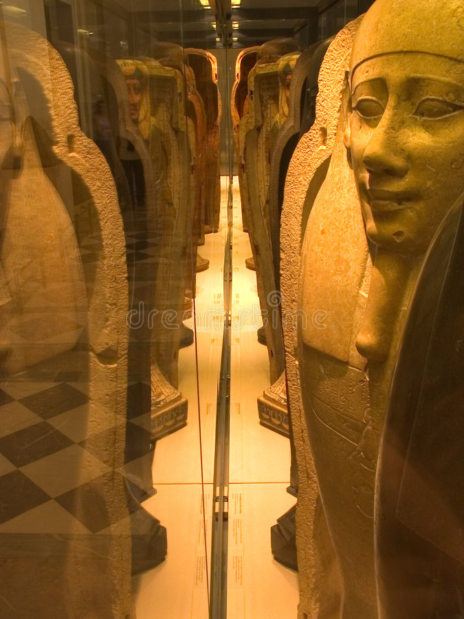 Egyptian Pharaohs stock images