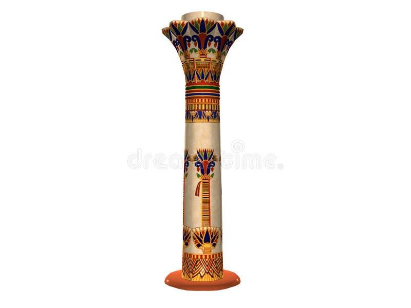 Egyptian Pillar One royalty free illustration