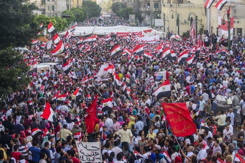Egyptian Protest Against Morsy royalty free stock photos