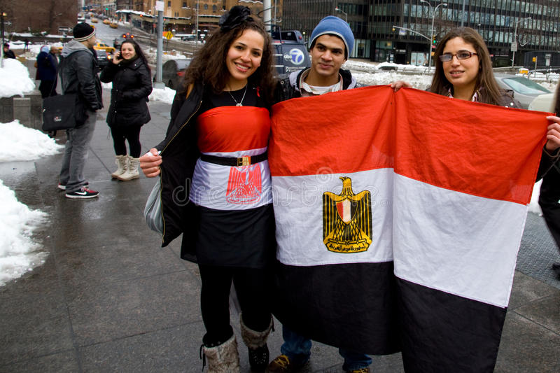 Egyptian Protest at United Nations in NYC