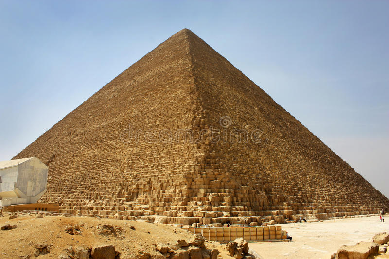 Download Egyptian pyramid stock photo. Image of giza, architecture - 20302062