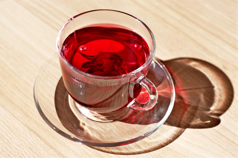 Download Egyptian red tea karkade stock photo. Image of nutrition - 14802366