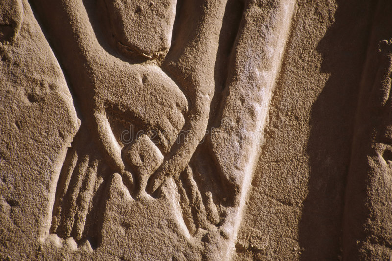 Egyptian Relief royalty free stock image