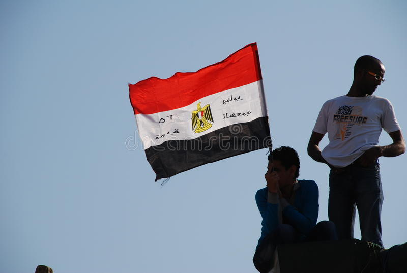 Download Egyptian Revolution - January 25 Editorial Image - Image: 21578650