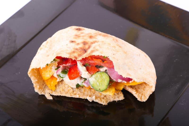 Egyptian Sandwich royalty free stock photography