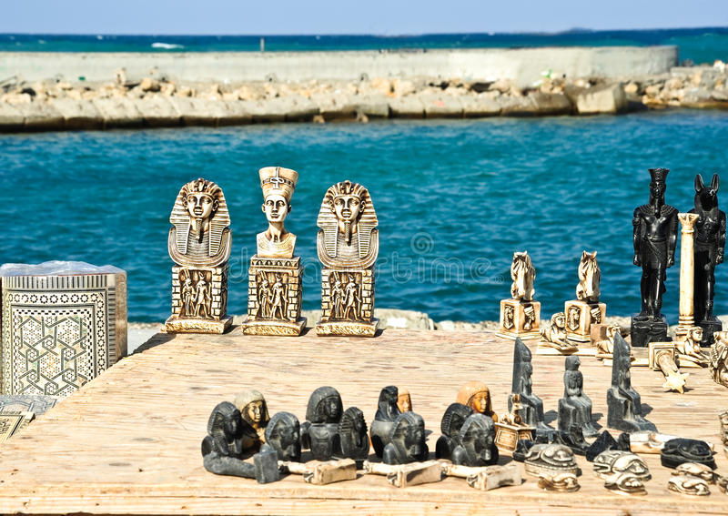 Download Egyptian souvenirs stock photo. Image of photo, tourism - 21350054