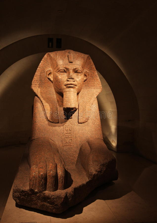 Egyptian Sphynx Royalty Free Stock Images