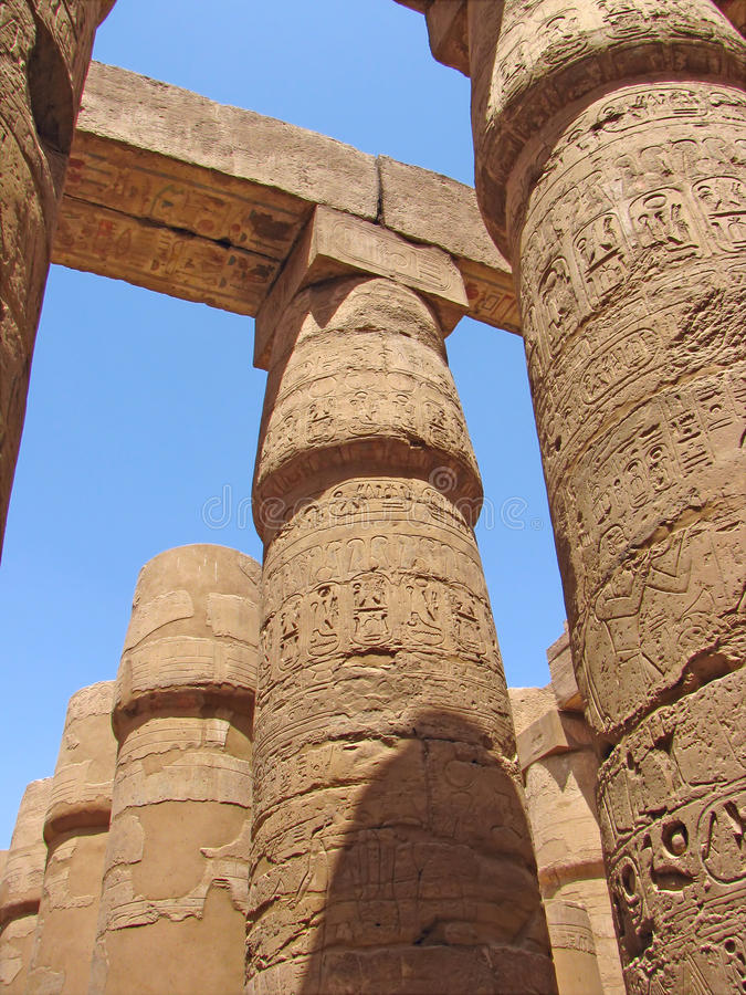 Download Egyptian temple stock image. Image of culture, landmark - 15123393