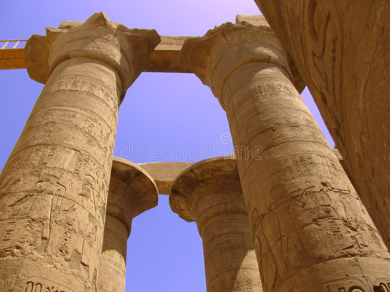Download Egyptian temple stock image. Image of culture, civilization - 18684709