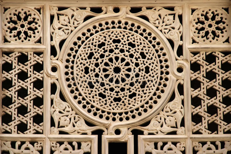 Egyptian Window Ornament Stock Image Image Of Masjid 24285053