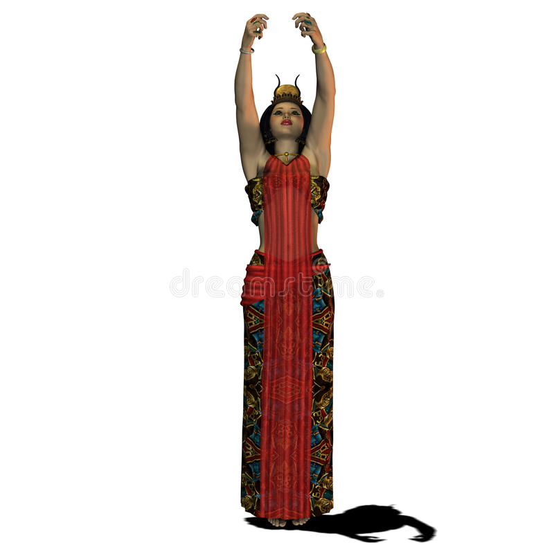Egyptian Woman 02 Stock Images