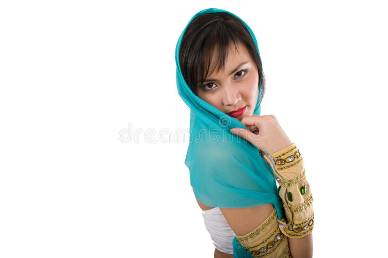 Download Egyptian woman stock photo. Image of golden, cute, casual - 12817300