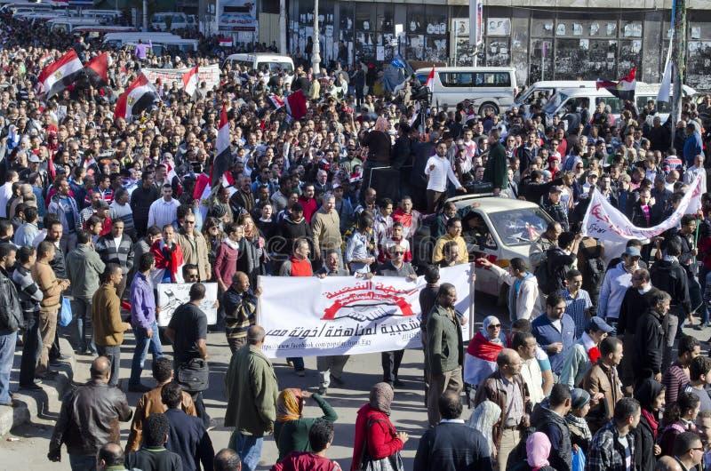 Egyptians demonstrating against president Morsi