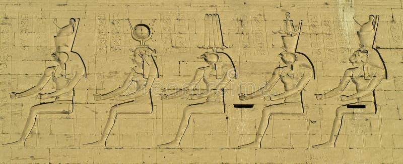 egyptier för 3 konst arkivfoto