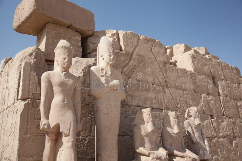 Egyptionruïnes stock fotografie