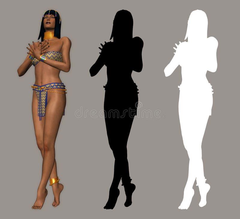 Egyptisch vector illustratie