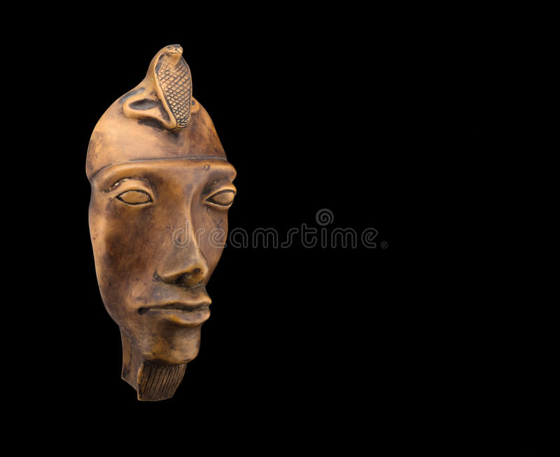 Egyptisch faraomasker 2 stock fotografie
