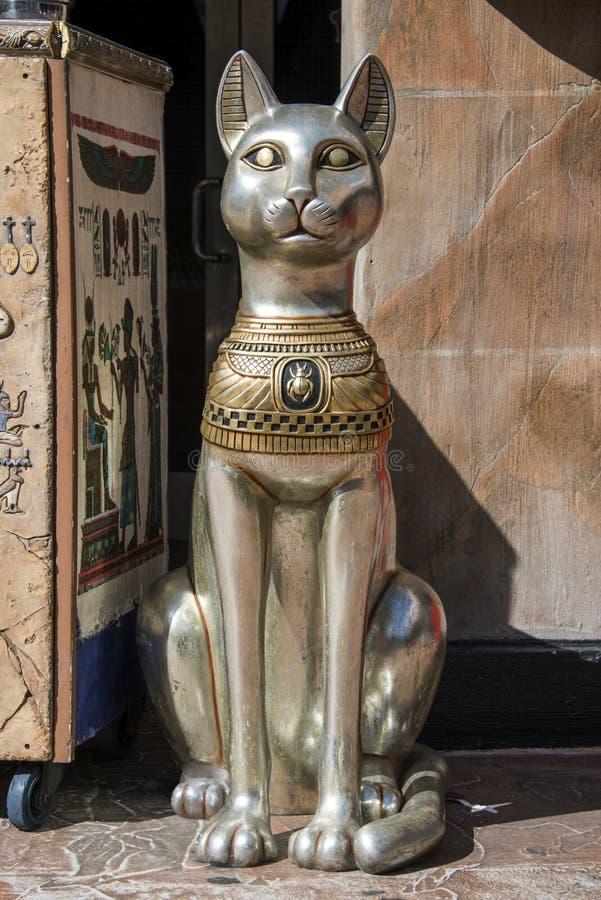 Egyptisch standbeeld royalty-vrije stock foto's