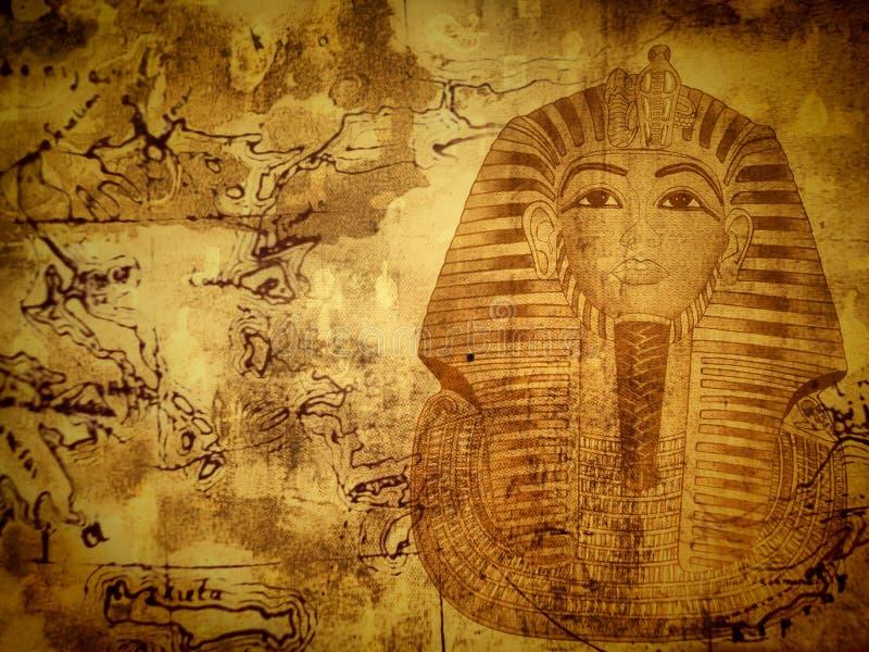 Egyptische achtergrond royalty-vrije stock afbeeldingen