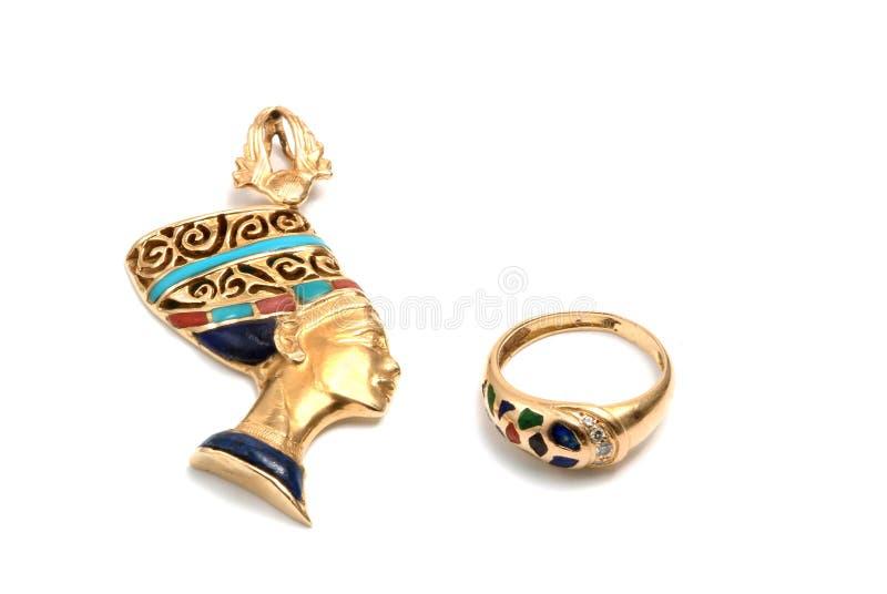 Egyptische juwelen royalty-vrije stock foto