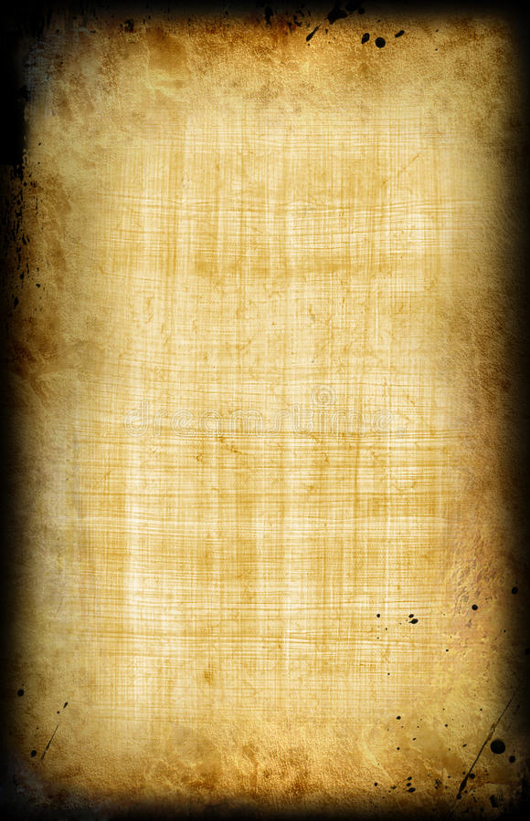 Egyptische oude papyrus royalty-vrije stock afbeeldingen