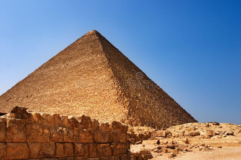 Egyptische piramide stock fotografie