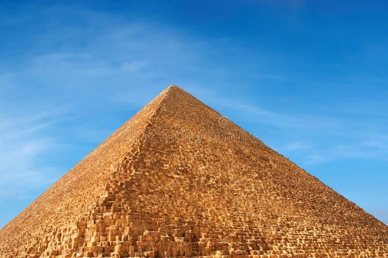 Egyptische piramide stock foto's